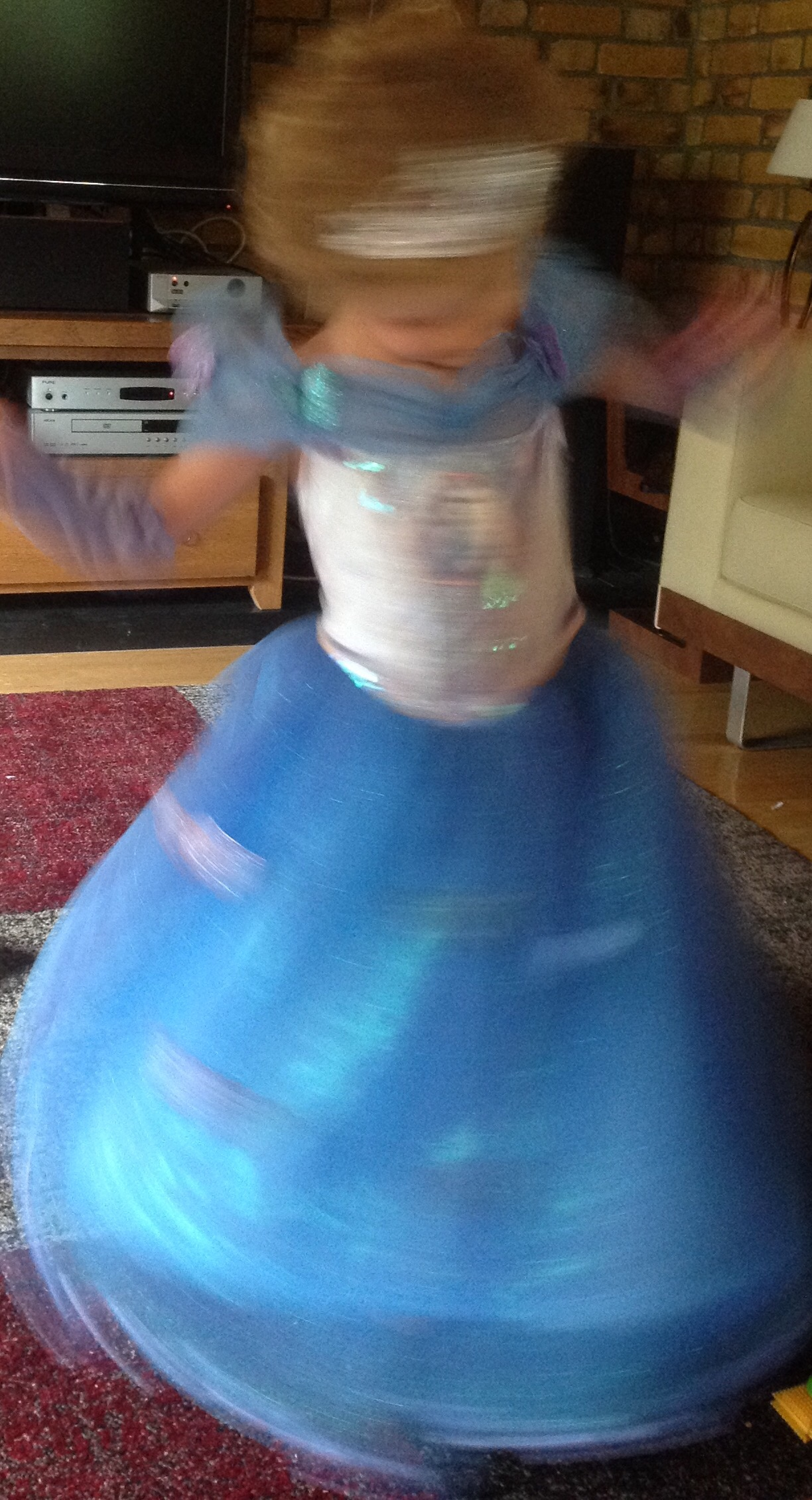 Princess spinning